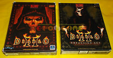 DIABLO II + LORD OF DESTRUCTION 2 Pc Versione Italiana 1ª Ed Big Box ○○ COMPLETI