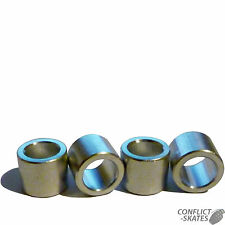 BEARING SPACERS Alloy 10mm Skateboard Longboard  Set of 4 Fit 8mm diameter axles