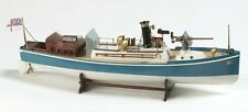 "Genuine, finely crafted wooden model ship kit by Billing Boats: the ""Renown"""