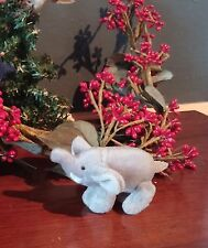"Miniature Elephant Plush Stuffed Jointed for 5"" Doll - Berenguer Tiny BJD  Puki"