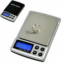 Mini 0.1g x 2000g Stainless steel Digital Pocket Jewelry Weight Scale Balance