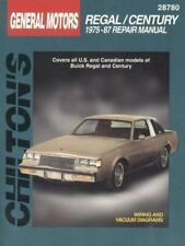 Buick Regal and Century, 1975-87 Chilton Total Car Care Series Manuals