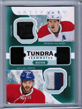 16/17 UD ARTIFACTS GALLAGHER GALCHENYUK DUOS STICK PATCH /15 MONTREAL CANADIENS