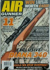 Air Gunner August 2016 Exclusive Diana 340 Product Reviews FREE SHIPPING sb