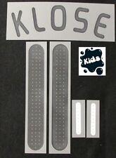 Authentic DFB Deutschland KLOSE Kinder Kids Flock für Home adidas Trikot EM 2008