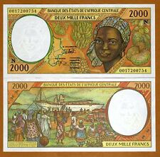 Central African States, Equatorial Guinea, 2000 Francs, 2000, P-503Ng, UNC