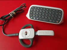 Set of 2 Accessories XBOX 360 Keyboard Chatpad et Micro Why wireless