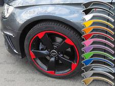 9x20 Zoll ET26 Felgen-Aufkleber f. VW Audi 5-Arm ROTOR Felgen Rim Decal RS4 RS5