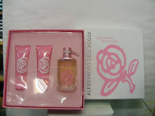 WOMAN IN ROSE de ALESSANDRO DELL'ACQUA set ragalo EAU TOILETTE 50spr+LINEA CORPO