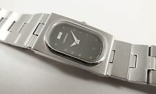 Lassale by Seiko Silver Tone Stainless Steel 1N00-4S10 Sample Watch NON-WORKING