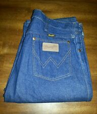 WRANGLER ORIGINAL COWBOY Men Jeans Vintage Boot Cut 13MWZ Denim 35x38 USA
