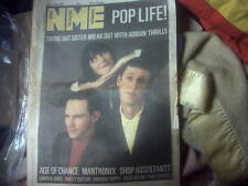 N.M.E.,1980s MUSIC MAGAZINE newspaper22 Nov 1986,