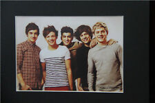One Direction Art Print of Original Drawing 8x10 matted wall decor picture gift