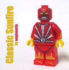 LEGO Custom - Sunfire classic - Marvel Superheroes daredevil X-men torch Cool!