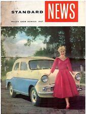 Standard Motorshow 1957 UK Market Brochure Eight Ten Pennant Ensign Vanguard