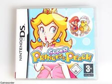 Super Princess Peach OVP/Inst. ° Nintendo DS/DSi/3ds juego °