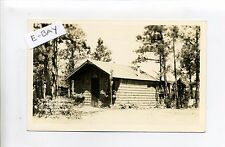 Hot Springs SD (Fall River Co) RPPC real photo Doll House, vintage postcard