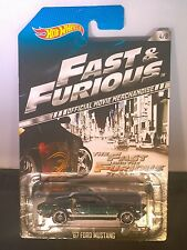 2014 Hot Wheels 1967 Ford Mustang The Fast & The Furious (Walmart Exclusive)