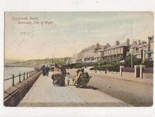 Esplanade South Sandown IOW 1906 Postcard 479a