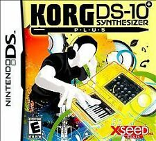 NEW KORG DS-10 Plus  (Nintendo DS, 2010)
