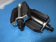 "Bicycle Classic Cruiser Block Pedals 1/2"" Set in Black - New"
