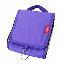 Cabin Max Travel Hang Up Wash Bag Toiletry Case Purple Hand Luggage Accessory