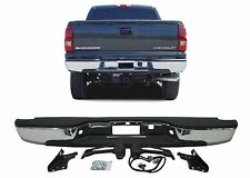 Chrome Rear Step Bumper 1999-2006 Chevrolet Silverado/GMC Sierra New Free Ship