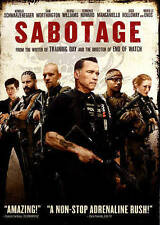 SABOTAGE 2014 Action dvd ARNOLD SCHWARZENEGGER Sam Worthington