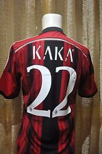 Milan shirt home 2014-2015, sz Medium #22 KAKA Official Nameset