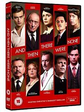 And Then There Were None . Agatha Christie . Sam Neill . Aidan Turner . DVD NEU