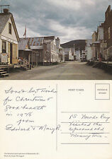 1960's BAKERVILLE BRITISH COLUMBIA CANADA COLOUR POSTCARD