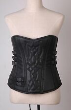 Underworld 4 Awakening Selene Pleather Corset Clothing Costume Cosplay