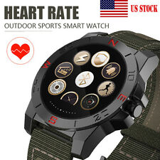 US Stock Waterproof N10 Heart Rate Smart Watch Bluetooth For Android iPhone IOS