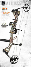 New Bear Attitude Bow 60-70 LB Complete PKG Right Hand Realtree Camo