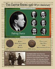 EASTER RISING :PATRICK PEARSE 1916 ANNIVERSARY ORIGINAL BIRTH+DEATH ONE-OFF ONLY
