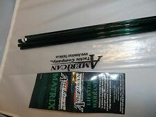 American Tackle Matrix 9' 6wt 4 pc green fly rod blank makes a great travel rod!