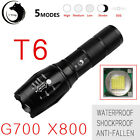 3600LM X800 G700 Tactical LED Flashlight Zoom Military Torch Light W/ 18650 NEW