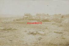 Foto, Auf dem Schlachtfeld in Frankreich 1916, (Q) 2603