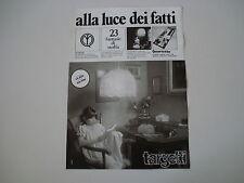advertising Pubblicità 1977 TARGETTI