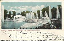 versailles grandes eaux de versailles le bassin de neptune   1901