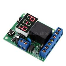 DC 12V Digital LED PLC Counting Cycle Timer Control Realy Delay Time Switch 48KO