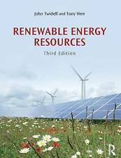 Renewable Energy Resources, John Twidell