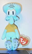Ty Beanie Baby ~ SQUIDWARD TENTACLES (SpongeBob Squarepants) MINT with MINT TAGS