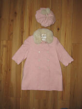 Sarah Louise, pink coat  jacket and matching hat 2 years.