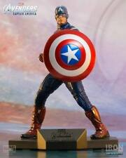 THE AVENGERS CAPTAIN AMERICA ART SCALE 1/10 MARVEL - IRON STUDIOS - OLD STOCK !