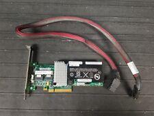 IBM 46M0851 ServeRaid M5015 6Gb/s SAS/SATA Raid Controller, BBU 43W4342, cables
