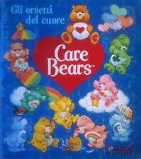 """§ ALBUM FIGURINE PANINI """"GLI ORSETTI DEL CUORE - CARE BEARS"""" COMPLETO 1986"""