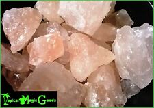 100% PURE NATURAL HIMALAYAN MOUNTAIN PINK SALT ROCKS * 84 MINERALS * 10 LBS BULK