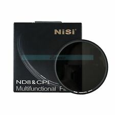 82mm Nisi Ultra Thin ND8&CPL 2in1 Multi-functional AGC Optical Glass Lens Filter