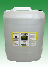 20 LITRES (25 KG) VEGETABLE GLYCERINE EP/USP FOOD/COSMETIC GRADE
